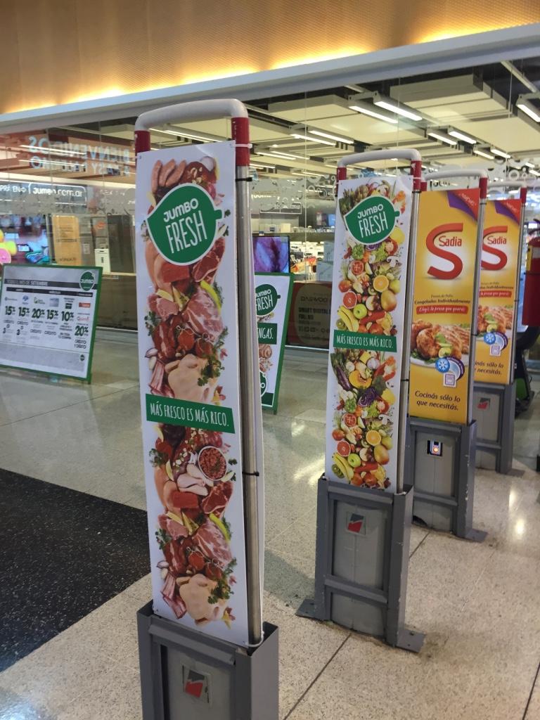 Alarmas para supermercado Jumbo