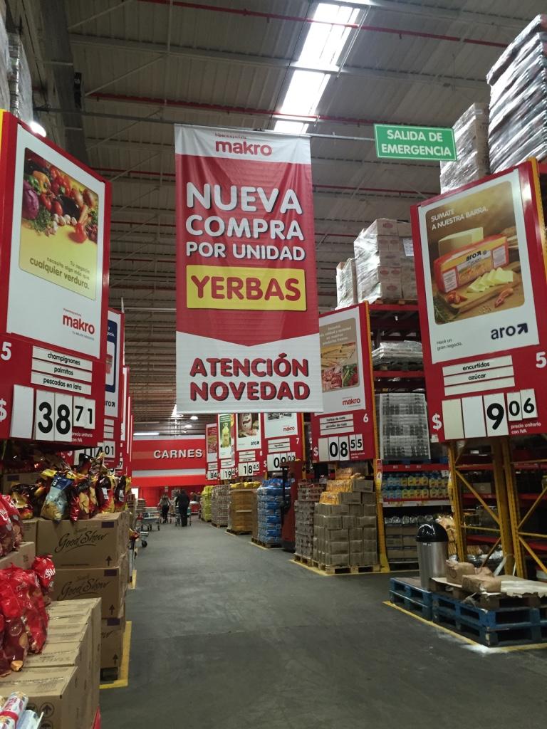 Campaña supermercado Makro