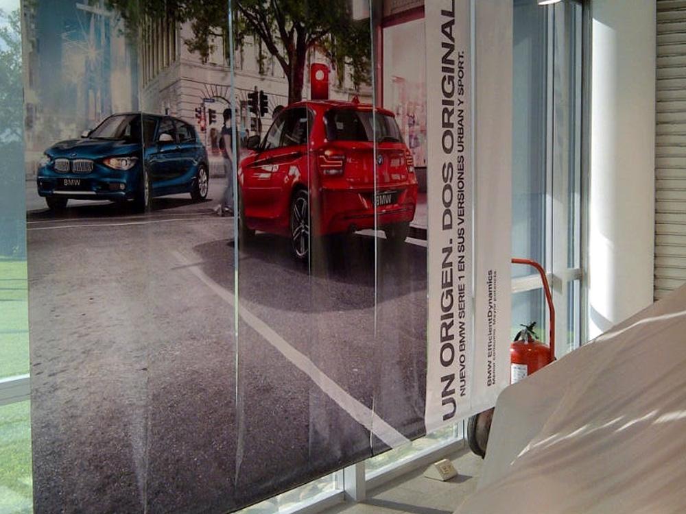 Vidriera BMW
